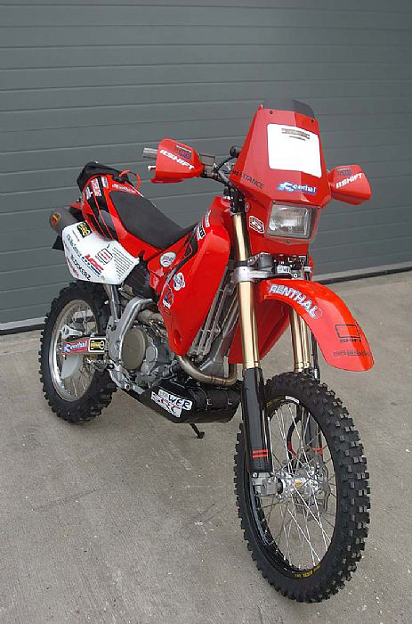 Xr650 Rallyraid Fairing Red